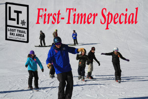First-Timer Special the best way to introduce yourself to skiing or snowboarding.